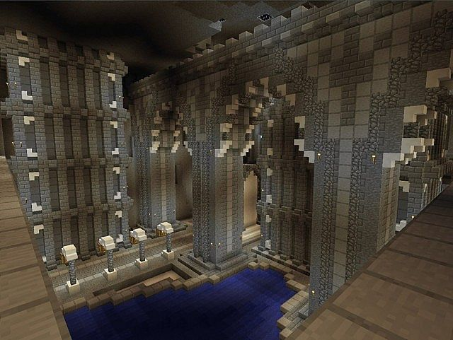 Minecraft castle interior decorating ideas medieval for Castle interior designs