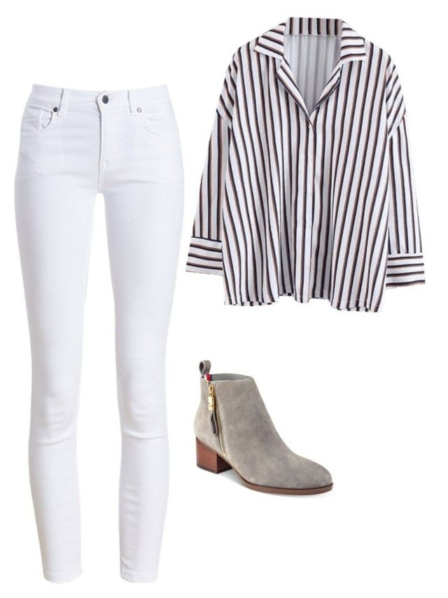 """""""Sin título #5"""" by angelaguirrem on Polyvore featuring moda, Barbour y Tommy Hilfiger"""