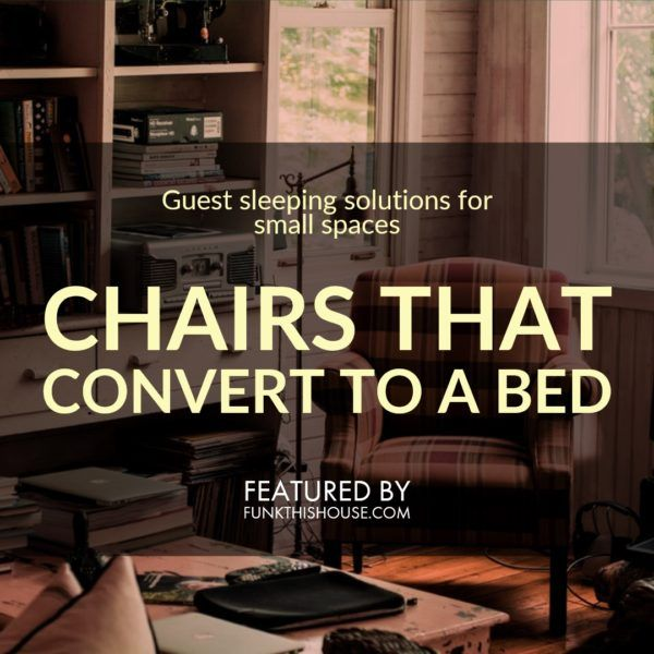 A Chair That Converts To A Single Bed Space Saving Idea Funky Home Decor Funky Bedroom Decor Single Bed
