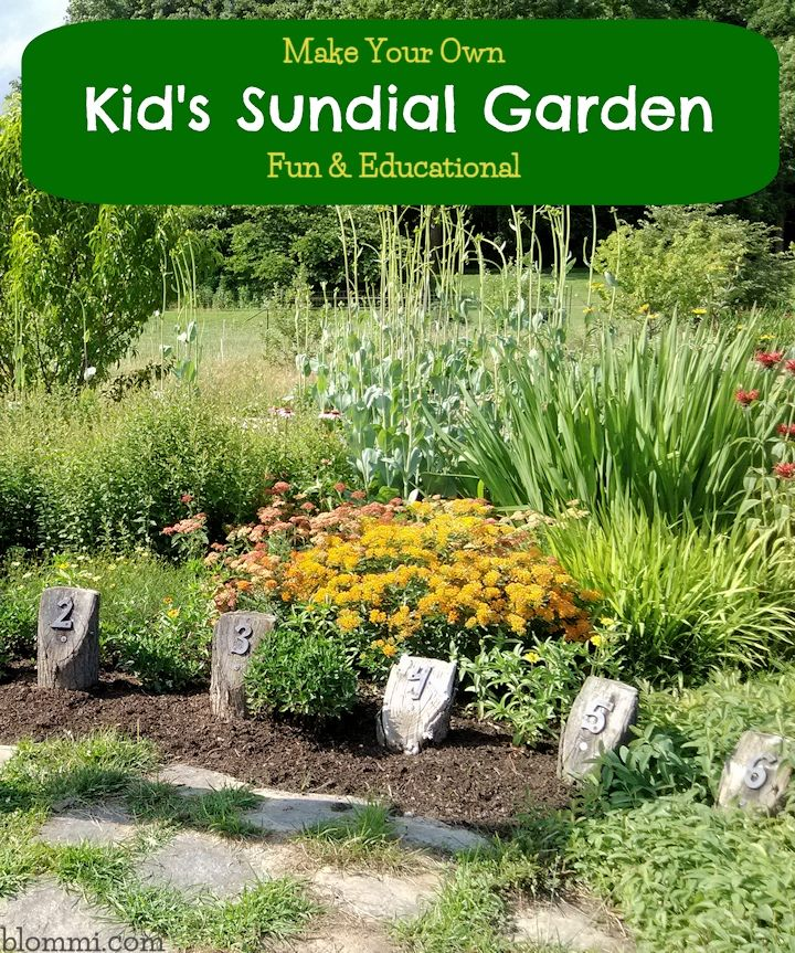Sundial Garden: A Fun & Educational Project to do with Children