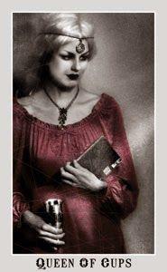 Queen of Cups tarot card - Aunia Kahn