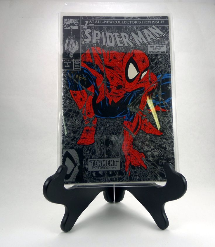 Spiderman 1 Signed Copy - Todd McFarlane Spiderman 1 Silver Edition - Certificate of Authenticity - Signed Spiderman 1 by AmalgamationCapital on Etsy