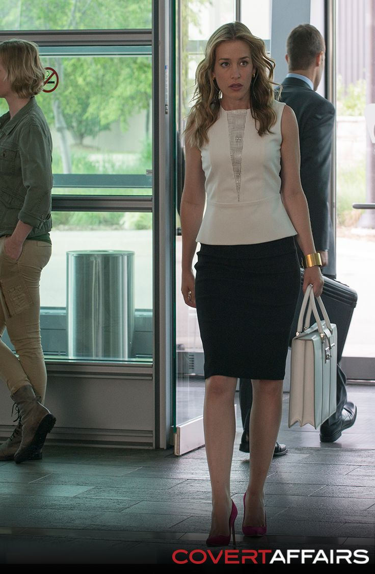 Don't miss an all-new episode of Covert Affairs, Tuesday at 10/9c on USA.