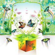 Resultado de imagen para caja de sorpresas de primavera
