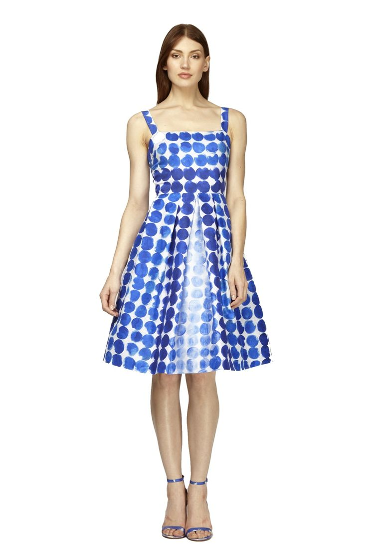Printed Full Skirt Cocktail from Kay Unger. This dress is ...