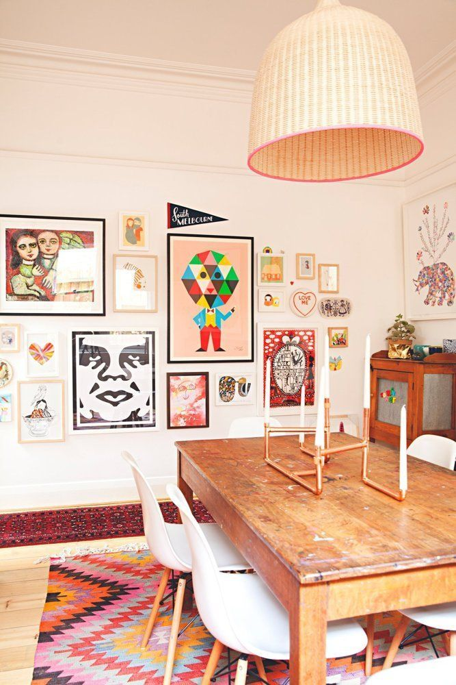 Madeleine Karls Colorful And Creative Family Home House Tour