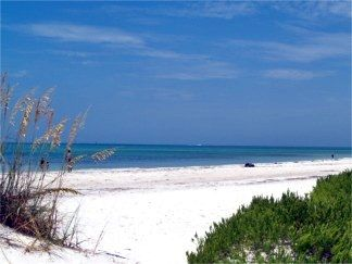 sarasota beaches | There are signs posted here to alert visitors that the current is fast ...