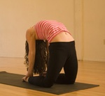 Yoga poses for relieving menstrual cramps. Where have these been my whole life?