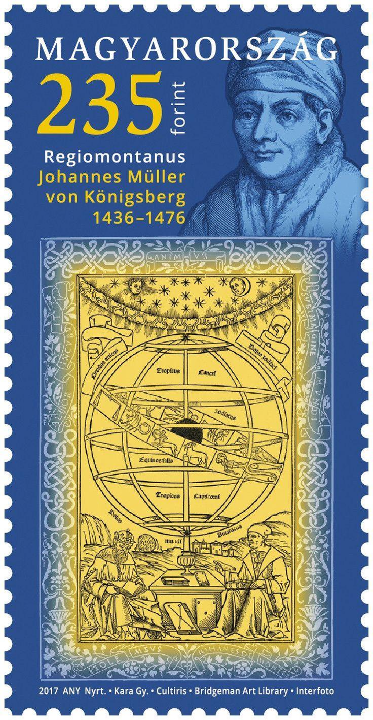 Hungary - 2017, 550th Anniv. of Regiomontanus (MNH)