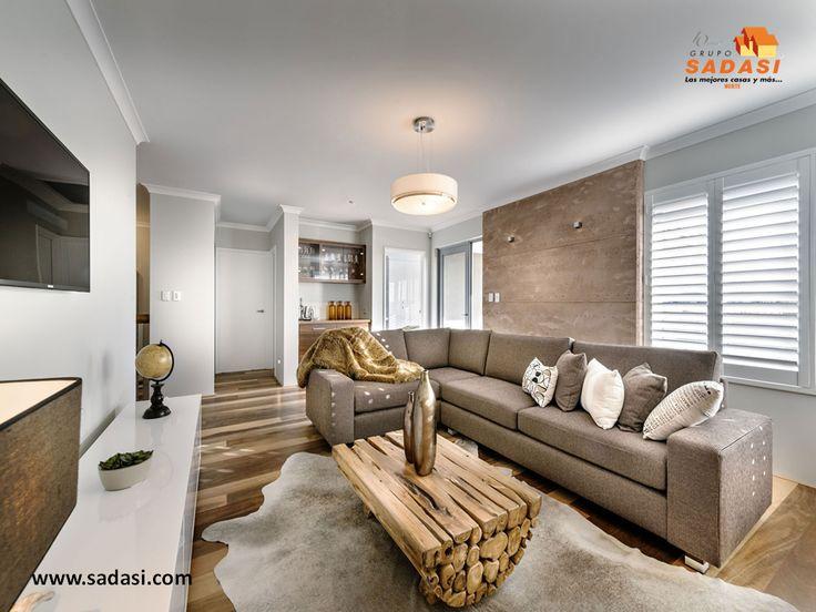 #decoracion LAS MEJORES CASAS DE MÉXICO. Los principios de la decoración moderna de interiores, son muy parecidos al estilo minimalista. Se debe evitar la recarga y los elementos de relleno y centrarnos sólo en lo esencial y en el orden de los espacios. Las maderas lacadas, aglomeradas o contrachapadas, el vidrio, metal y la piel, son los materiales estrella del estilo moderno. En Grupo Sadasi, le invitamos a conocer los desarrollos. informes@sadasi.com
