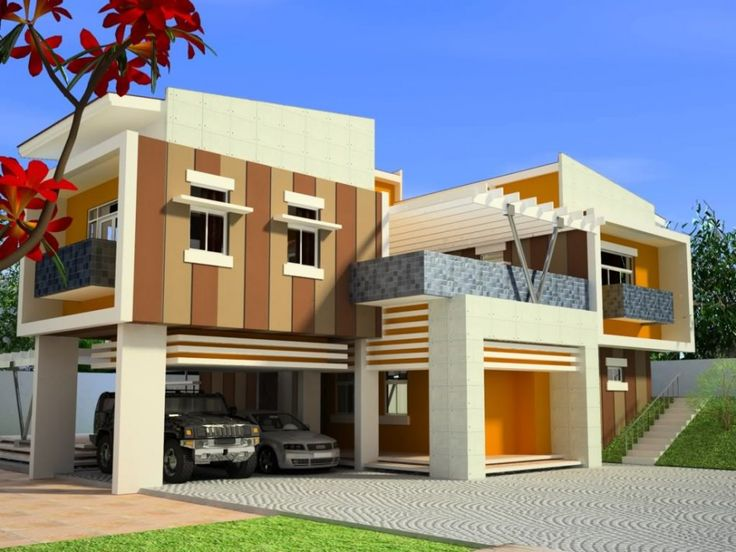 Ordinaire Modern Home Design In The Philippines Modern House Plans