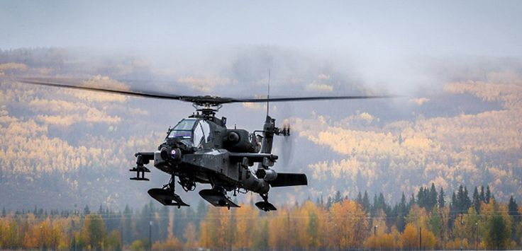 Apache Attack Helicopters Get Skis And Crew Survial Pods For Arctic Combat