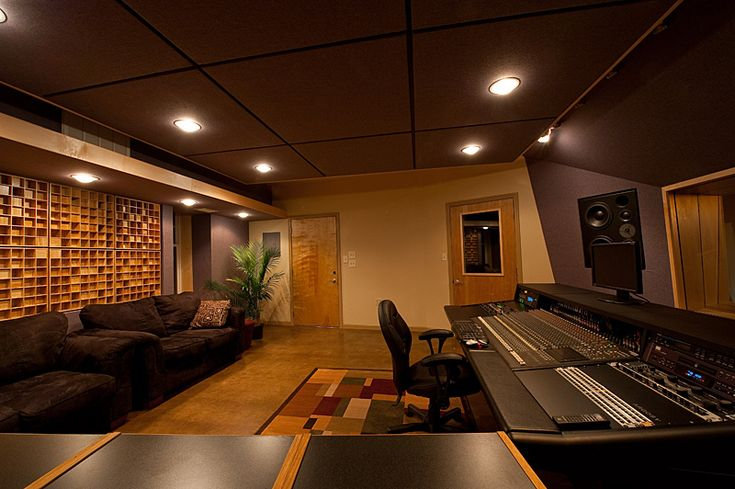 105 best recording studios images on pinterest for Recording studio layout