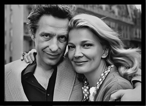 John Cassavetes Gena Rolands Candid Terrific Photo | eBay