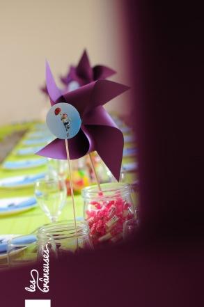 Bapteme. Garçon. Toy Story. Buzz. Woody. Centre de table. Center piece. ©Les crâneuses, event planner & designer.