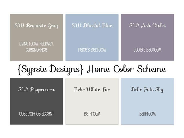 Whole House Paint Color Scheme Neutrals And Colors The