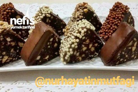 Çikolatalı Piramit Pasta