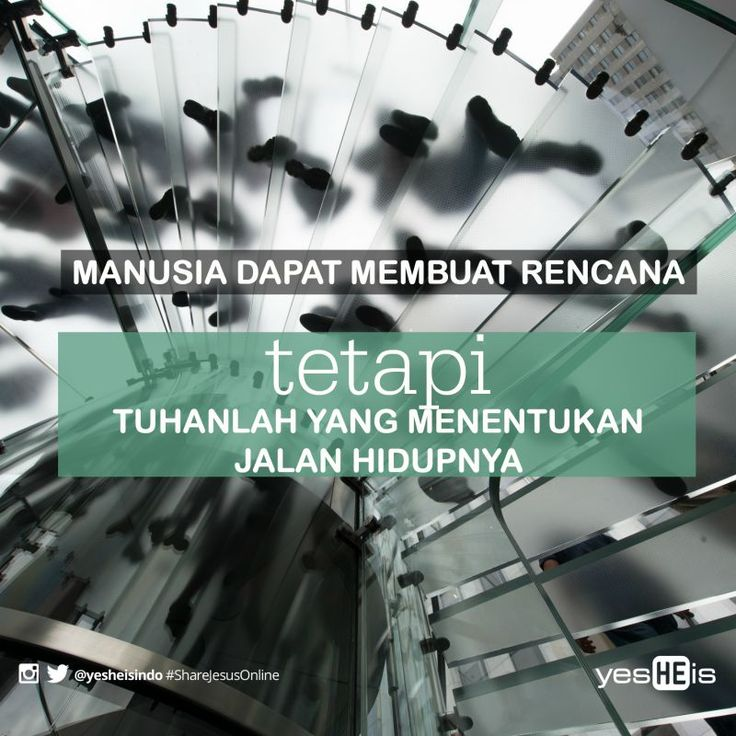 Hati manusia memikir-mikirkan jalannya, tetapi Tuhanlah yang menentukan arah langkahnya #bible #yesHEis #quotes #shareJesusOnline #christian #God #quote #motivational