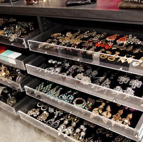 Mary Alice Stephenson's jewelry drawer