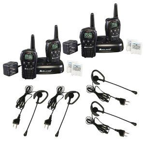 Midland LXT500VP3 22-Channel GMRS Consumer Radio Kit with