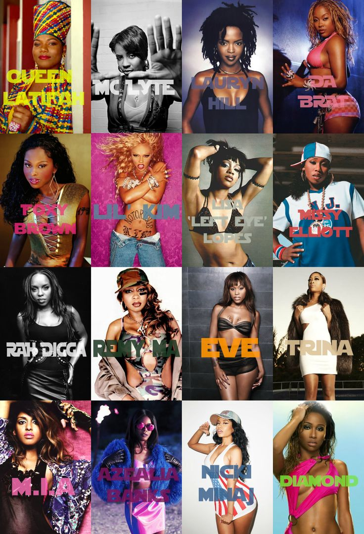Female Rappers, again. (I'm sorry about the last one).