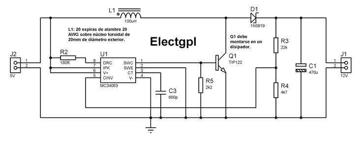 electgpl  fuente smps con mc34063