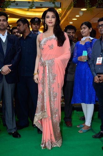 Aishwarya Rai Bachchan in Manish Malhotra. http://www.vogue.in/content/bollywood-best-dressed-2014-indian-ethnic#11