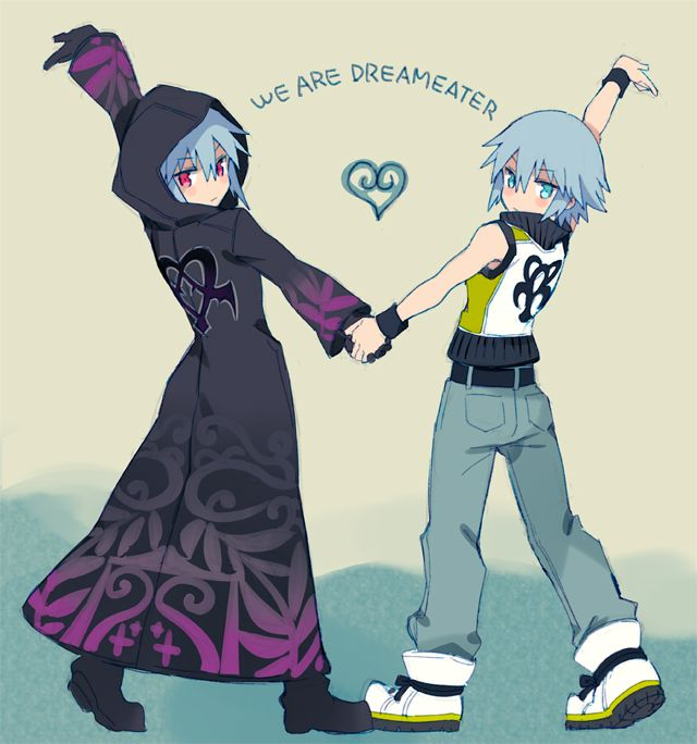 Opposing Dream Eaters for Sora