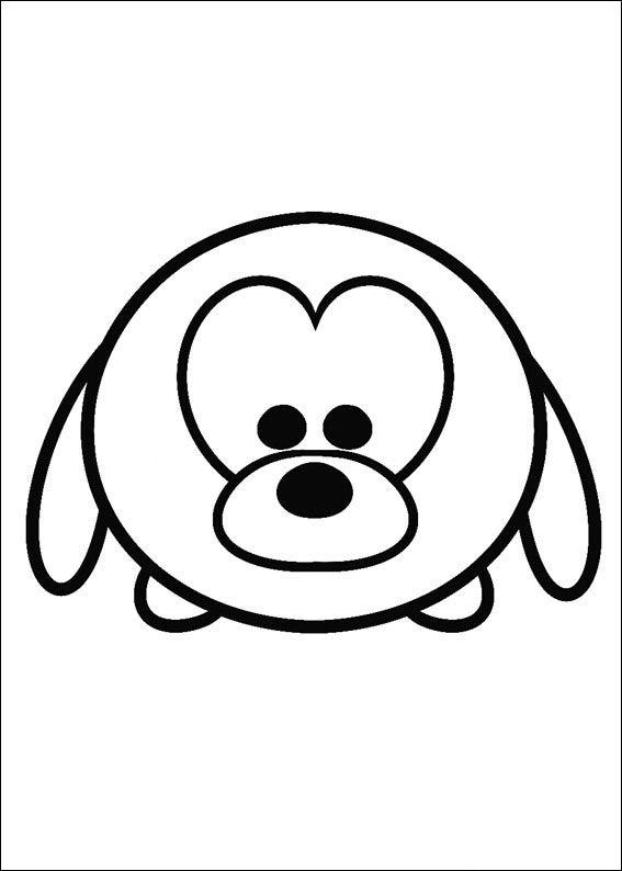 Tshum Tshum 24 Dibujos Faciles Para Dibujar Para Ninos Colorear Tsum Tsum Para Colorear Paginas Para Colorear Disney Tsum Tsum