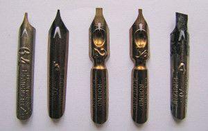 инструменты для каллиграфии