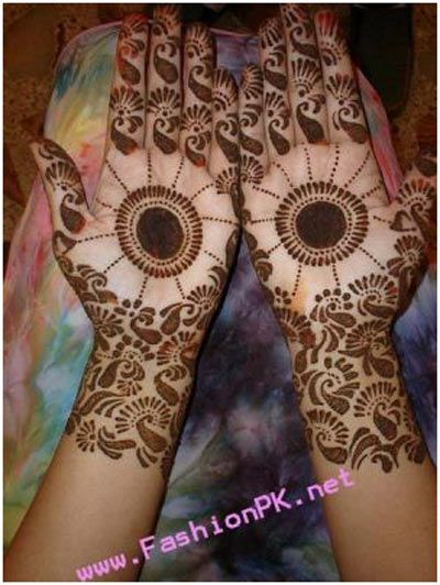 Indian Mehndi Designs pattrern