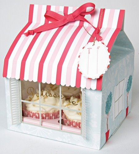 I would buy absolutely any flavor of cupcake if it came in this cute little house