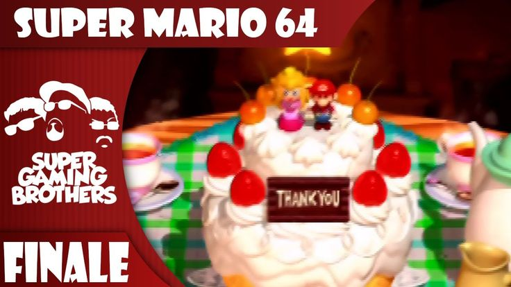 SGB Play: Super Mario 64 - Finale | The Cake Wasn't A Lie