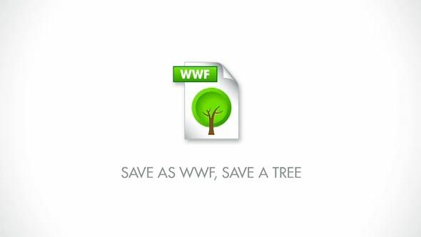 WWF: Save as .wwf format