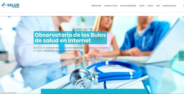 Nace #SaludSinBulos, una plataforma para una información sanitaria veraz