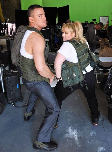 Channing Tatum and Rebel Wilson
