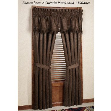 Red Rodeo Western Window Treatments