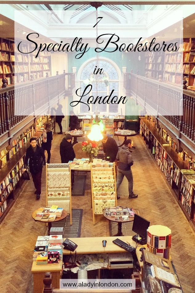 I love a good bookstore, from the interiors to the words between the covers. Today I bring you 7 specialty bookstores in London that are worth discovering.