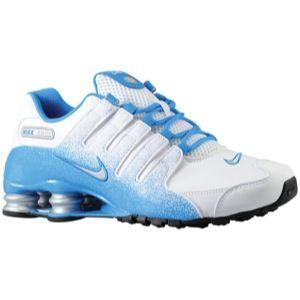Awesome Men's Nike Shox  Blue & White
