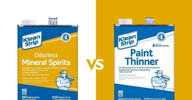 Mineral Spirits vs Paint Thinners: 5 Key Differences