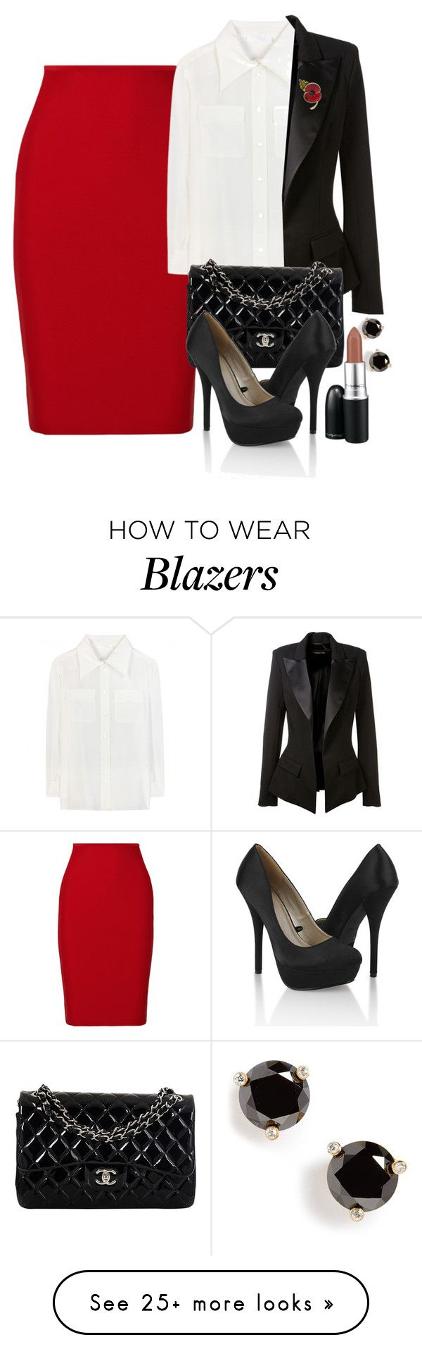 """Untitled #3138"" by natalyasidunova on Polyvore featuring Roland Mouret, Chloé, Alexandre Vauthier, Chanel, Forever 21, Kate Spade and MAC Cosmetics"