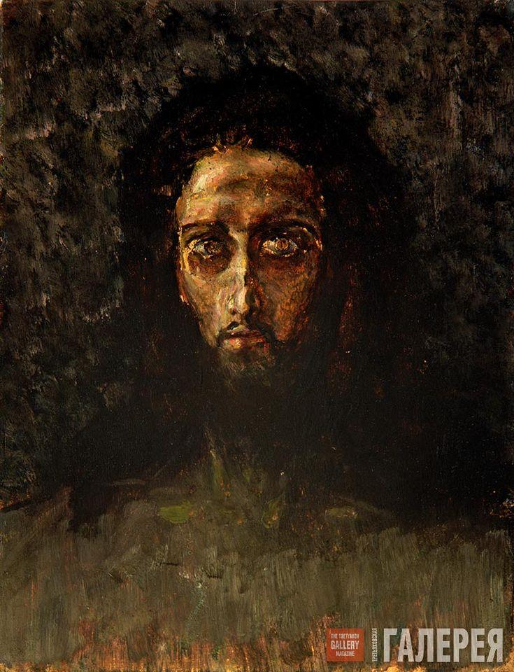 Михаил Врубель. Голова Христа. 1888