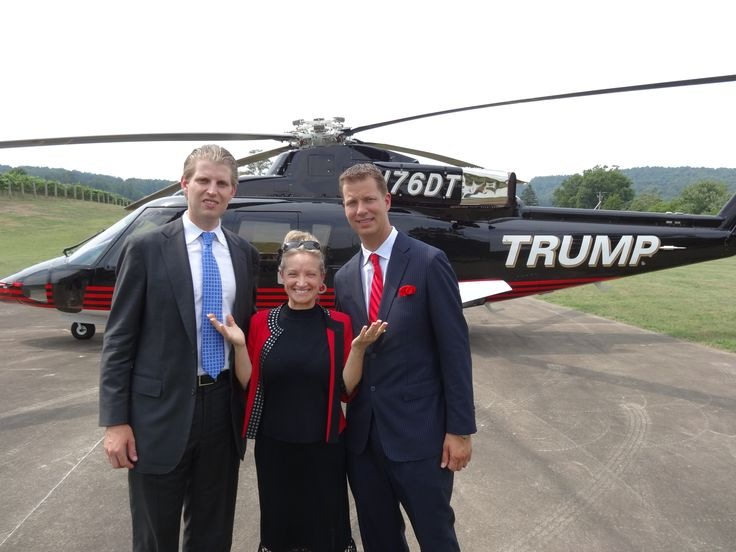 Eric Trump and JT Foxx