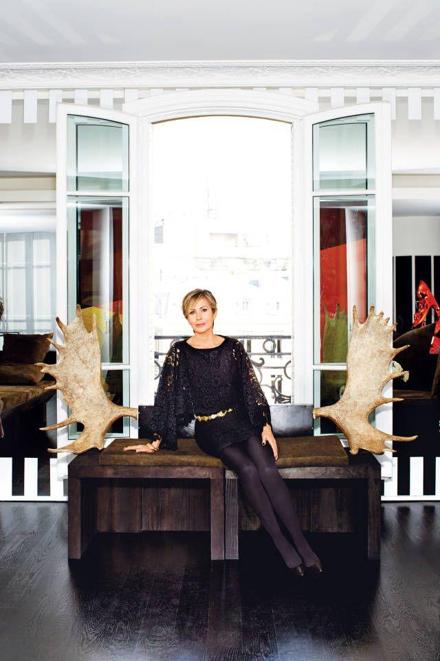 The Fashionable Life Of Carmen Busquets Paris Apartments