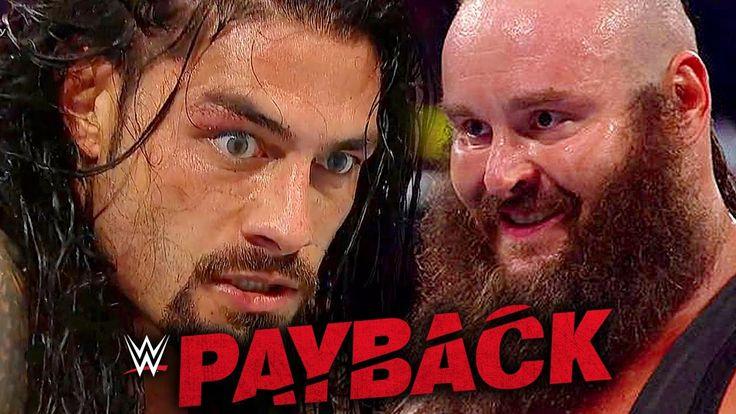 WWE PAYBACK 2017 PREDICTIONS...