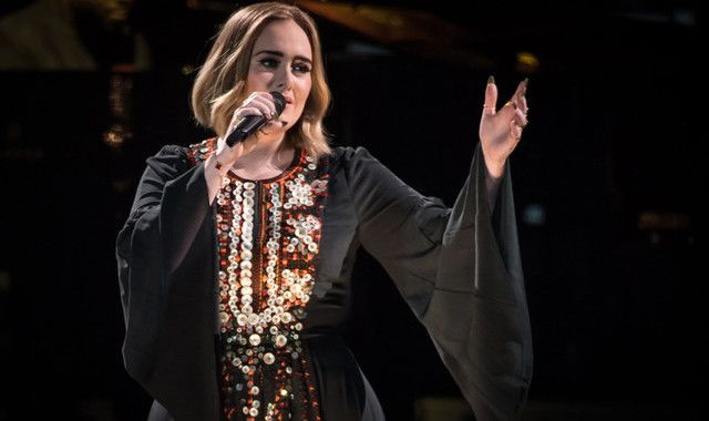 Adele hits out at ex during Glastonbury headline set: 'You live with your mother'