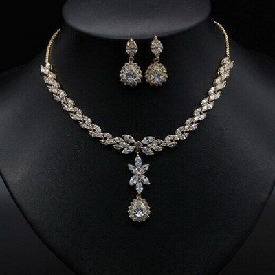 White Gold Wedding Jewellery Sets - Jewelry Engagement
