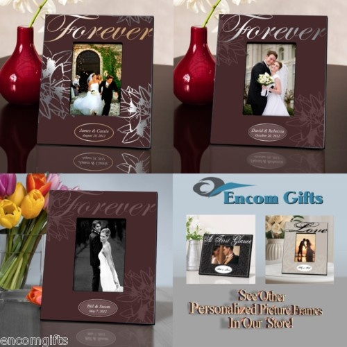 Personalized Love Forever WEDDING PICTURE FRAME a perfect