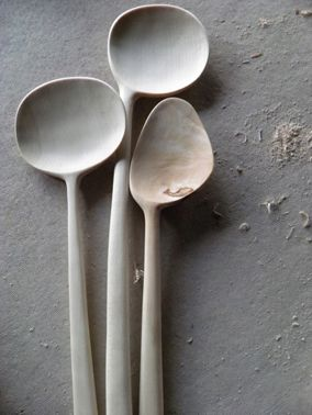 Blackcreek Mercantile and Trading Co. Sculptural Kitchen Tools by Joshua Vogel via Marte Marie
