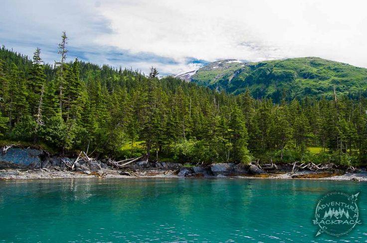 Cove in Whittier Alaska